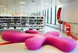 Library Interior Designing