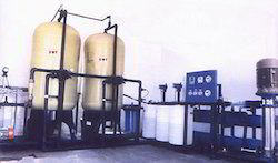 Industrial R.O. Plant With Filtration System