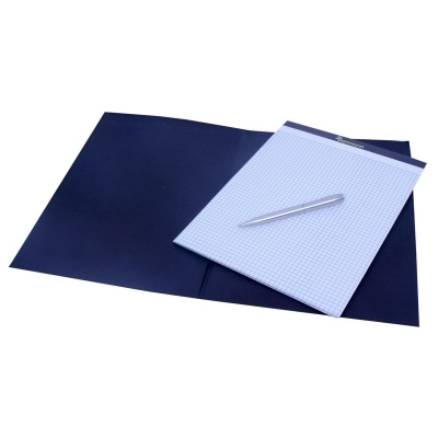 blue plain page notebook view specifications details of notebook