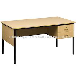 Two Rack Rectangular Study Table, Height: Up to 3.5 feet