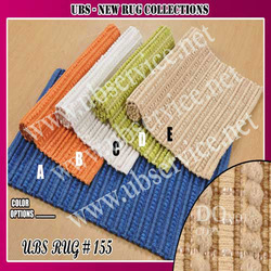 Cotton & Polyester Rib Rug Collections