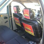 In Cab Branding