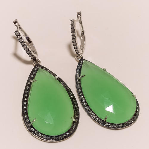 Party Chrysoprase Earrings