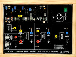 PWM & PPM Modulation & Demodulation Trainer-ST8104
