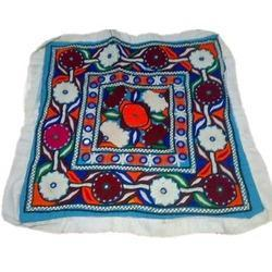 Tribal Asian Textile Embroidery Patchwork Cushion Cover, Packing Type: Poly Bags