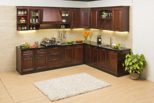 Kitchen Cabinets Kolkata modular kitchen - l- shape modular kitchen manufacturer from kolkata