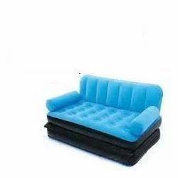 Blue Color Air Sofa