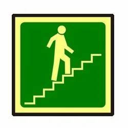 Photoluminescent Stair Signage