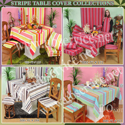 Stripe Table Cover Collections