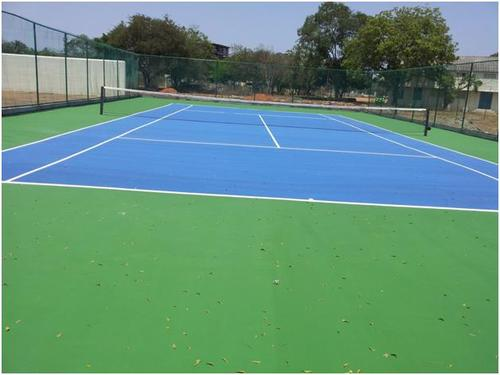 Pace Synthetic Tennis Court Flooring Rs 55 Square Feet S Sprungz
