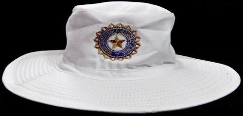 India Cricket White Hat 2015 Wide Brim Floppy Hat Amp India