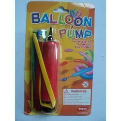 Balloons W Pump