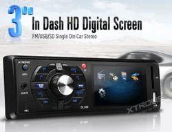 3 In Dash HD Digital Screen Car Audio System