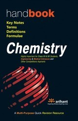 Handbook Chemistry: Key Notes, Terms, Definitions & Formulae