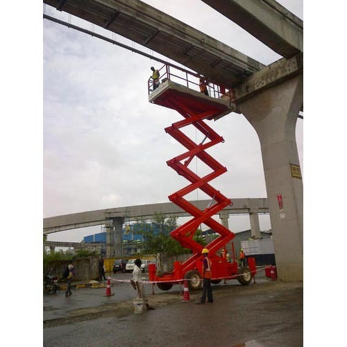 Scissor Lift On Rent