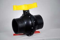 PP Black Heavy Duty Valves
