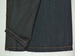 2/40(TFO) Regular Satin Denim Fabric