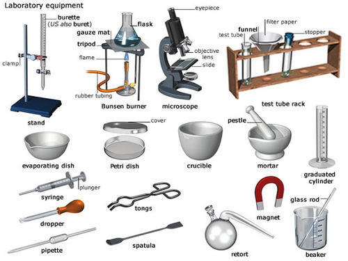 lab apparatus and equipments