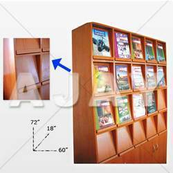 Magazine Display Rack