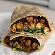 Frozen Channa Wrap