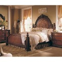 Masa Gaia Natural Finish Queen Bedroom Furniture Set