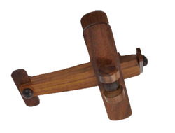 Brown Wooden Plain Aeroplane Toy, For Kids