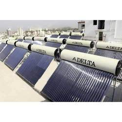 Evacuated Tube Collector (ETC) GI Apartment Solar Water Heater, Warranty: 5 Years, Model Name/Number: Commercial