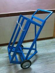 Oxy- Acetylene Gas Cylinder Trolley