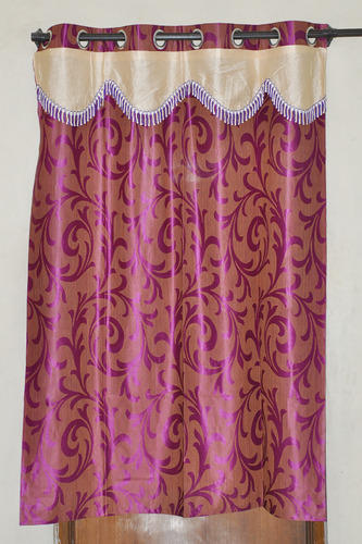 Polyester Door Window Curtains With Scalpe Priya Home