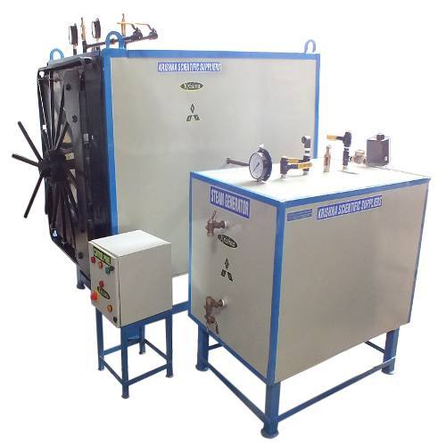 Industrial Autoclaves - SS Vertical Autoclave Manufacturer