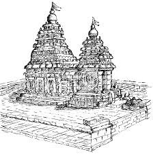 Temple Colouring