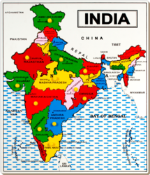 Montessori puzzle map montessori paheli naksha suppliers exporters wooden india map puzzle kids montessori world gumiabroncs Image collections