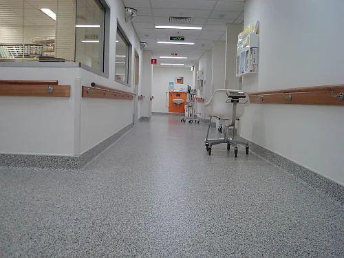 Hospital Vinyl Flooring Plastic Rubber Floor Tiles