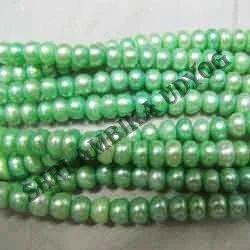 Green Pearl Beads