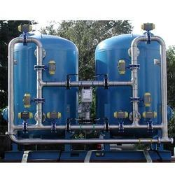 Manual Iron Water Filtration System, Capacity: 1000-5000 litres per hour, Softener