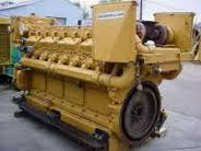 Non-Silent Used Marine Engine And DG Set Caterpillar D399
