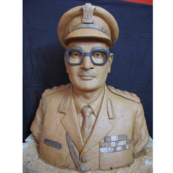 Officer Bust Statue