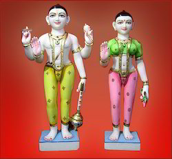 Iskcon Laxmi Narayan Statues