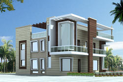 Lovely Residential Interior And Exterior   Residential Interior And Exterior  Design From Delhi