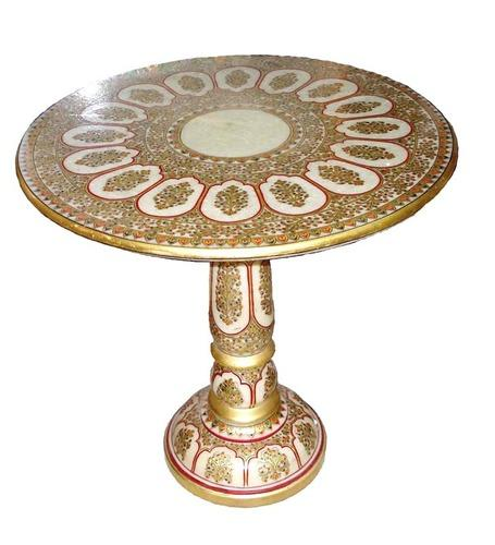 Marble Handicraft Table Kuber Art N Craft Manufacturer In Kanta