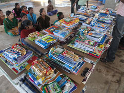 Distribution of Educational Material To Poor Students
