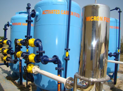Water Treatment Plant Micro Filtration System