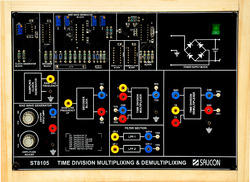 Time Division Multiplexing & Demultiplexing Trainer- ST8105