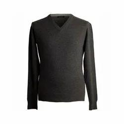 Cashmere Mens V Neck Sweater