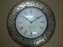Coin Fitted Wall Clock