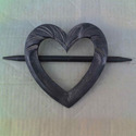 Wooden Heart Tie Back