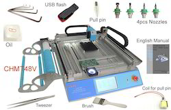 Desktop Automatic SMD / SMT Pick And Place Machine VDSMT48