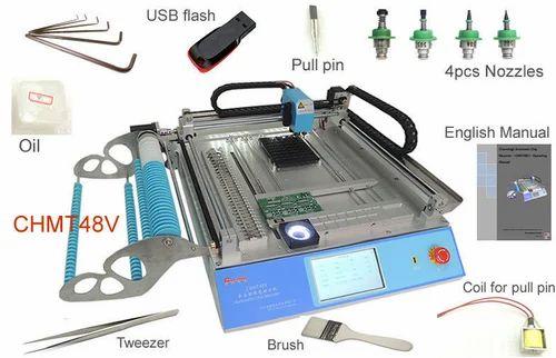 Desktop Automatic SMD / SMT Pick And Place Machine VDSMT48