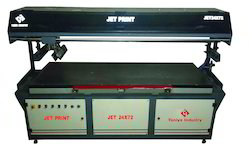 2000 Pieces Jet Flat Screen Printing Machine