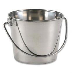 Seamless Stainless Steel Bucket